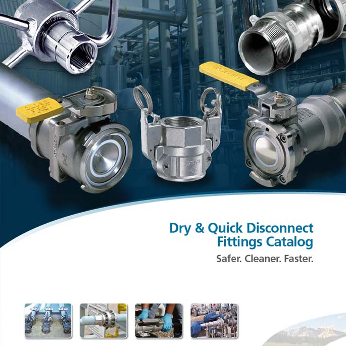 Dry & Quick Disconnect Fittings Catalog